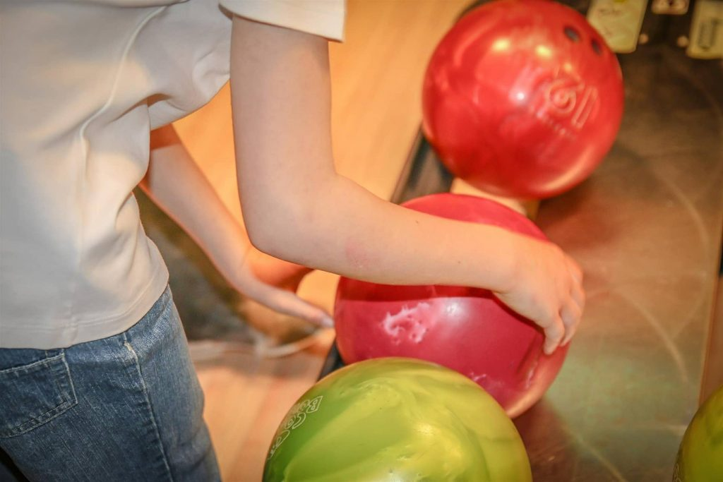bowling balls party